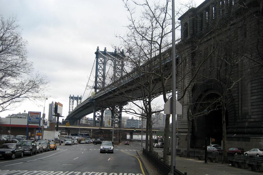 NYC LES Manhattan Bridge The Manhattan Bridge Is A 6