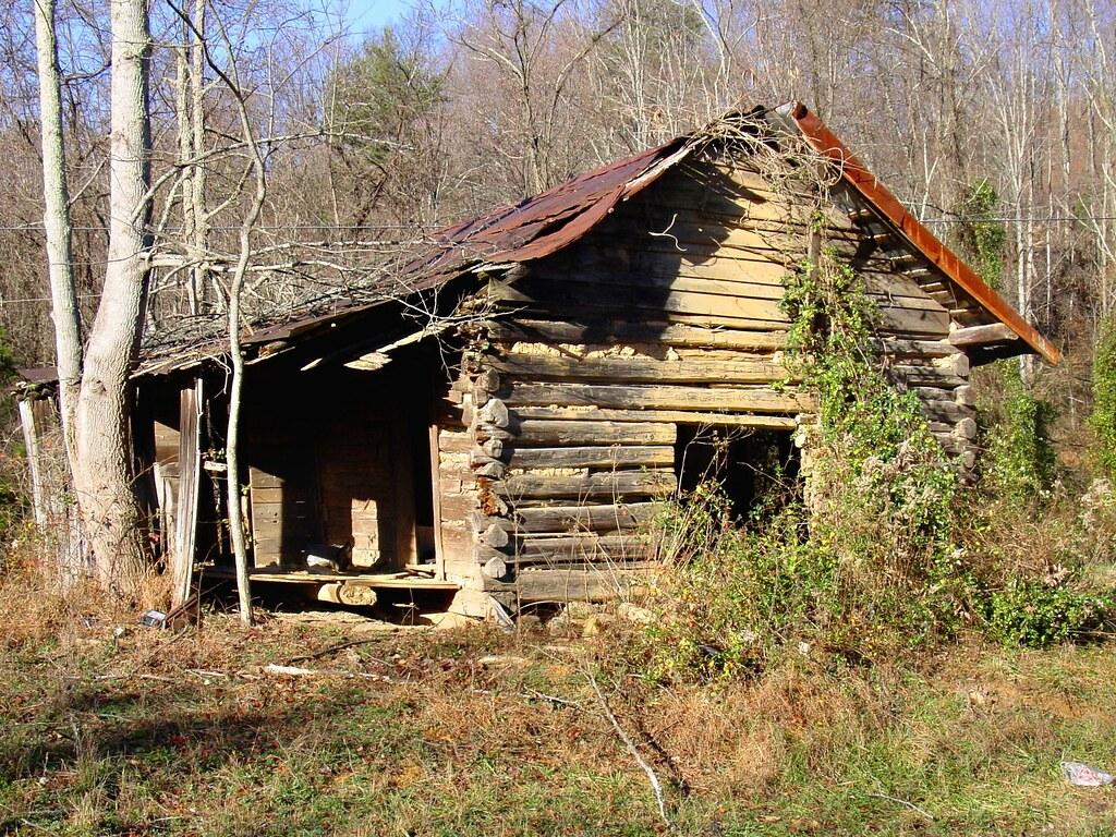 Old Log Cabin on Clinch Mountain Color  John Duford  Flickr