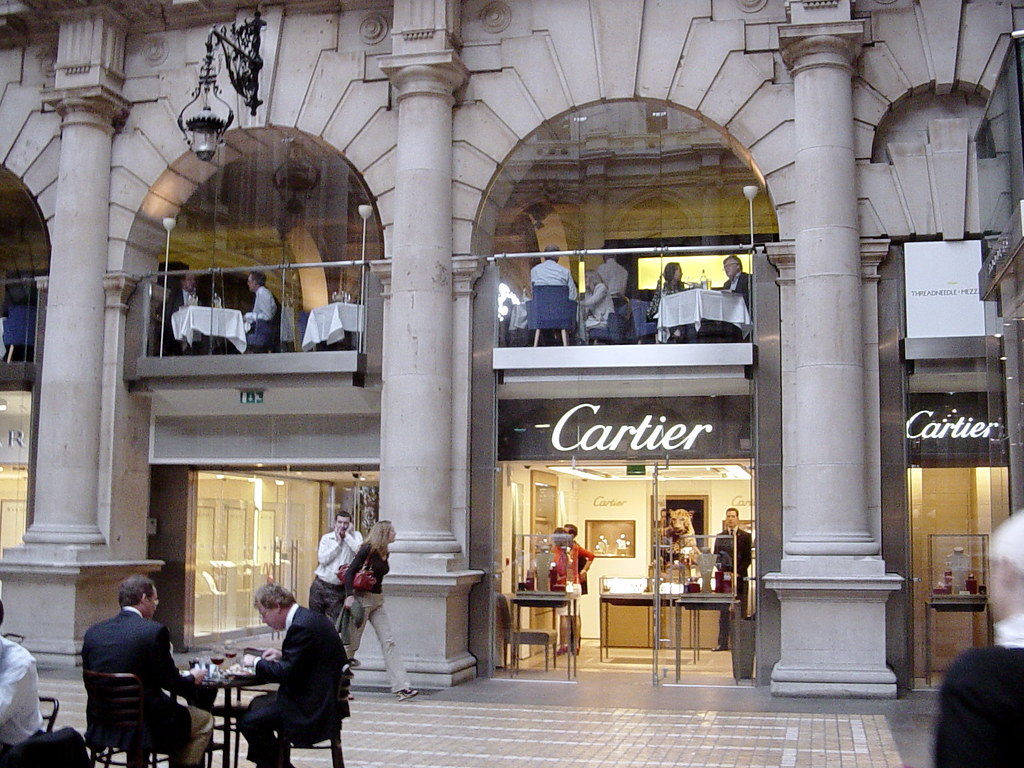 Interior Royal Exchange Cartier Shop City Of London Flickr