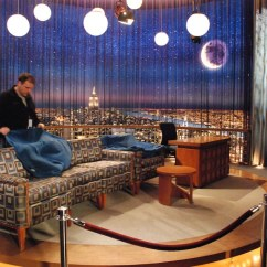 Sofa With Chair English Company Walkden Conan O'brien: Studio 6a   As The Wnbc Nyc Blogger Summit ...