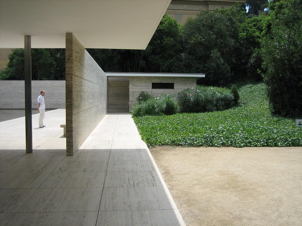 Mies van der Rohe Barcelona Pavilion  Pabelln alemn de l  Flickr