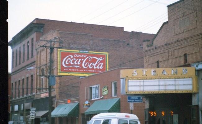Zelienople Pa Strand Theater Drink Coca Cola Rexall Drug S