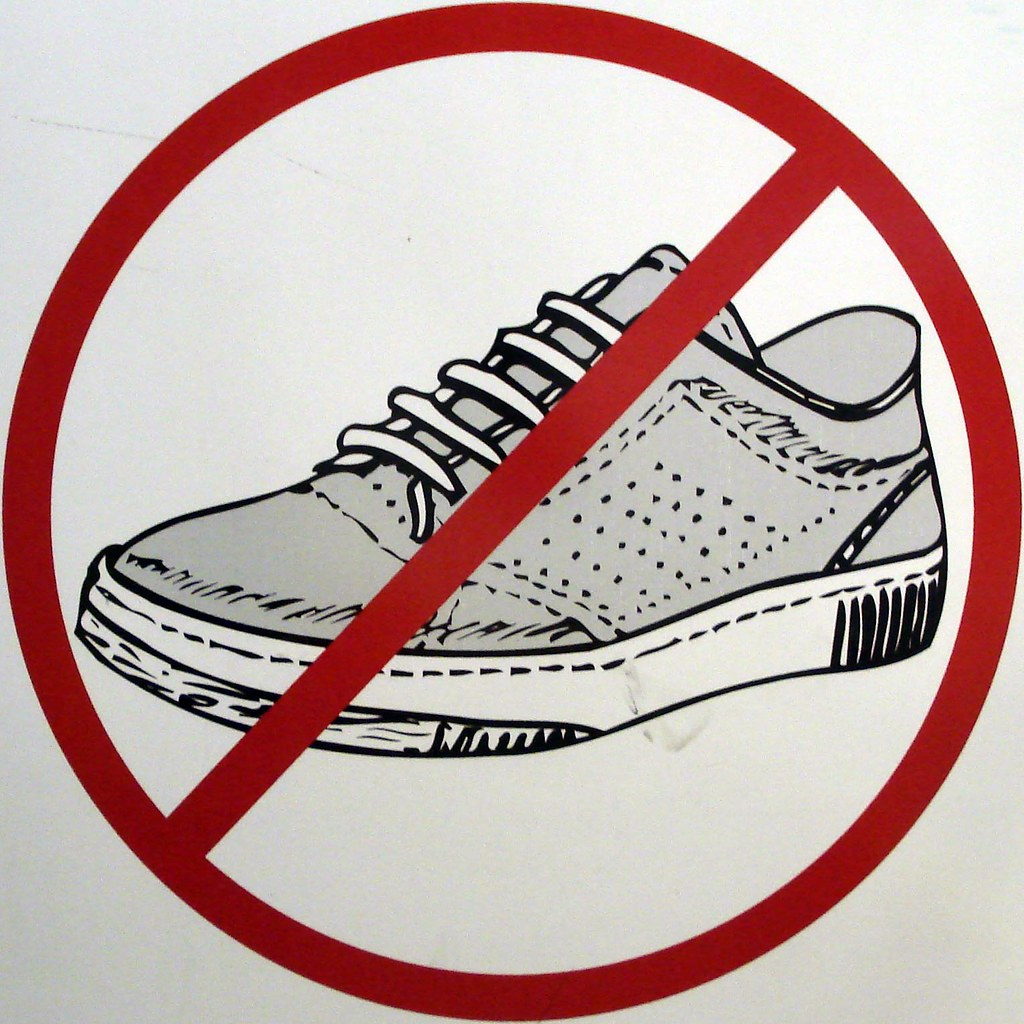 Printable Please Take Off Your Shoes Sign
