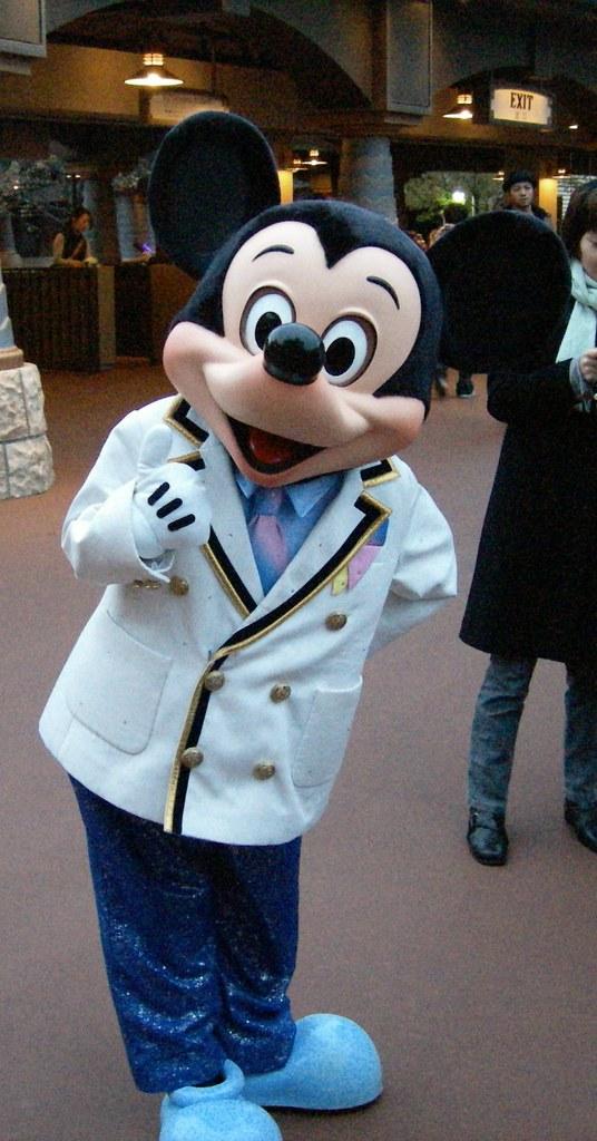 Mickey Mouse Tokyo Disney Sea