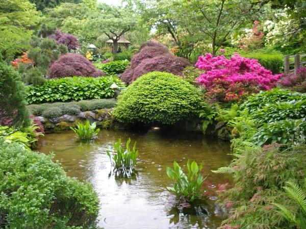 japanese garden butchart gardens.victoria