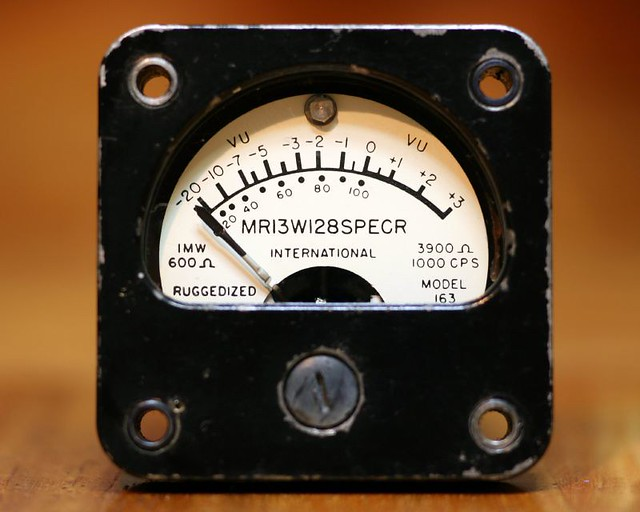 Vu Meter Electronic Idea