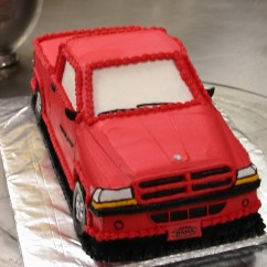 Dodge Ram Electrolux Rm212f Wiring Diagram Grooms Cake Red Truck Front View Closeup | Ta Dah Cakes Flickr