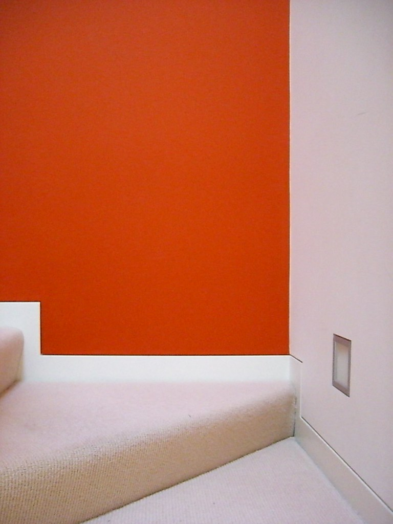 3d 3d Wallpaper Orange Wall A National Acrobat Flickr