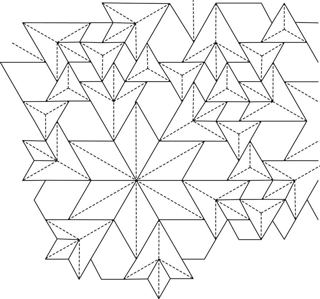 Pentaflowers Flagstone Tessellation Cp