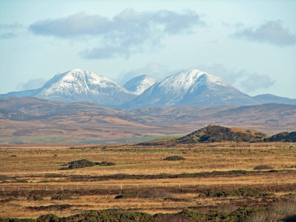 The Paps Of Jura Seen From Islay We Were Driving Along