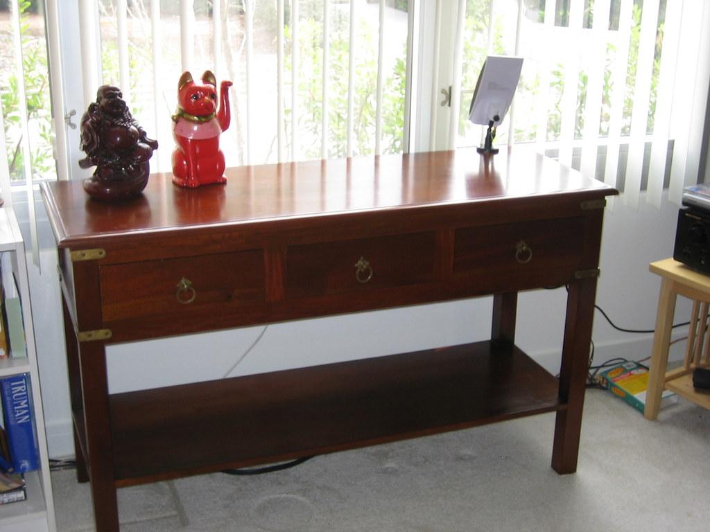craigslist sacramento sofa table victorian sets new console from mahogany maybe wood