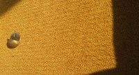 brass and yellow industrial carpet | in the delightful 70s ...