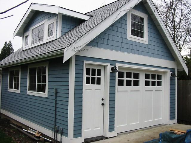 Lake Washington Craftsman Garage Door  Seattle Garage Doo