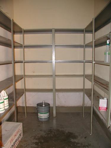 Harveyville High School Empty Storage Room  Nikol Lohr