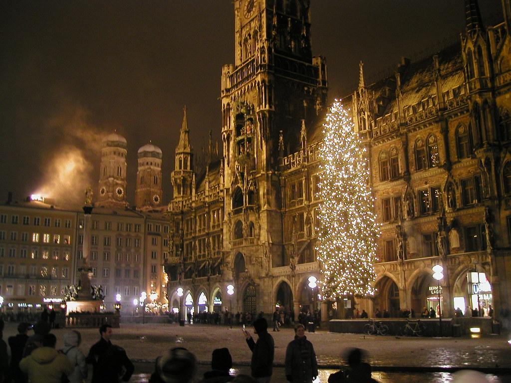 New Years Eve On Marienplatz Munich Jan Beckendorf