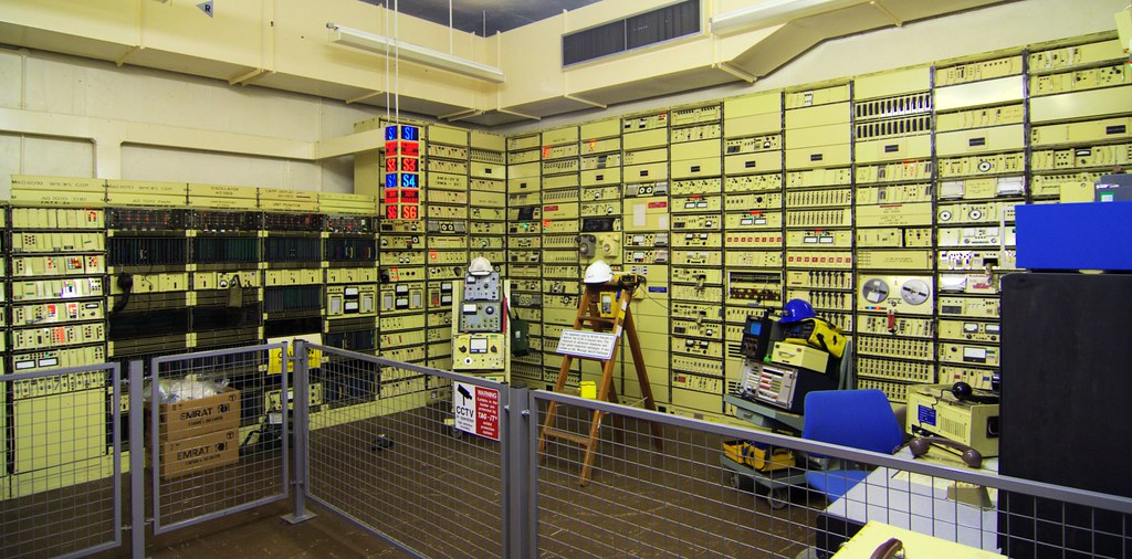 Hack Green nuclear bunker comms room  BT circuit