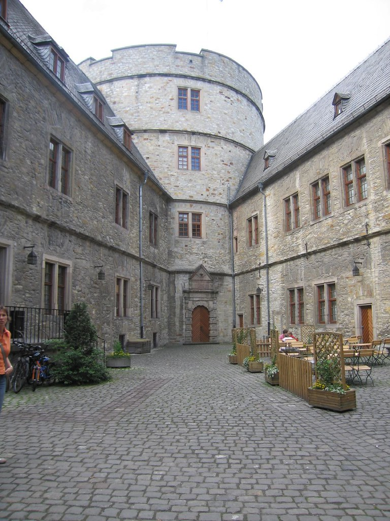 Wewelsburg Castle Inside Germany After Beeing The