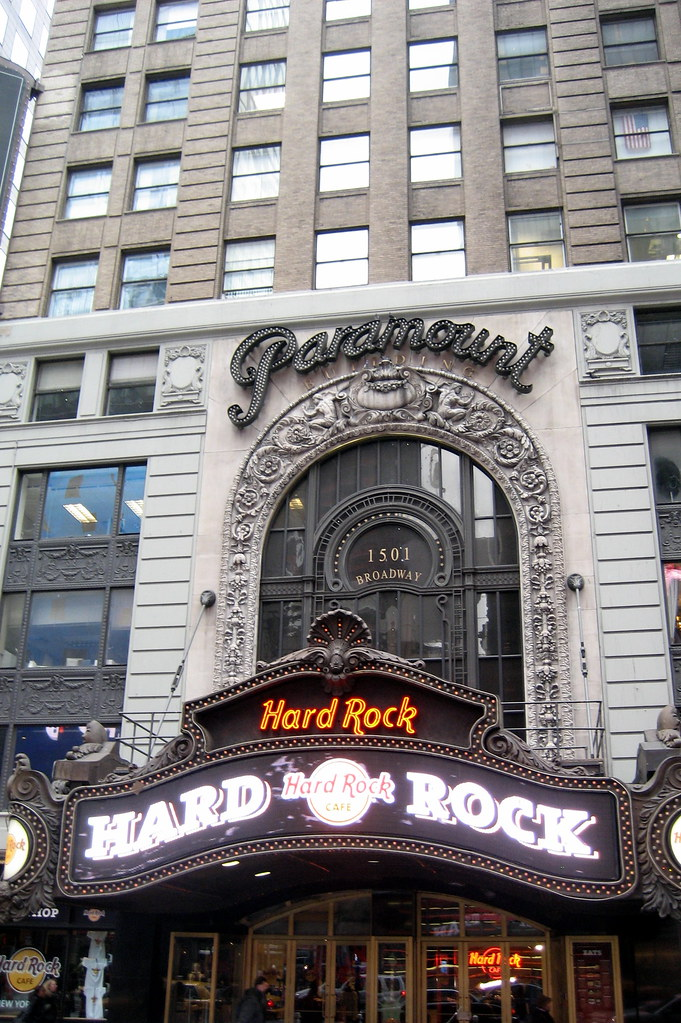 NYC  Times Square Paramount Building  Famed theatre archi  Flickr