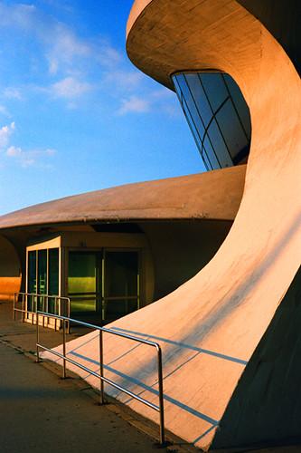 TWA Building  JFK Airport NYC  Eero Saarinen  Architect