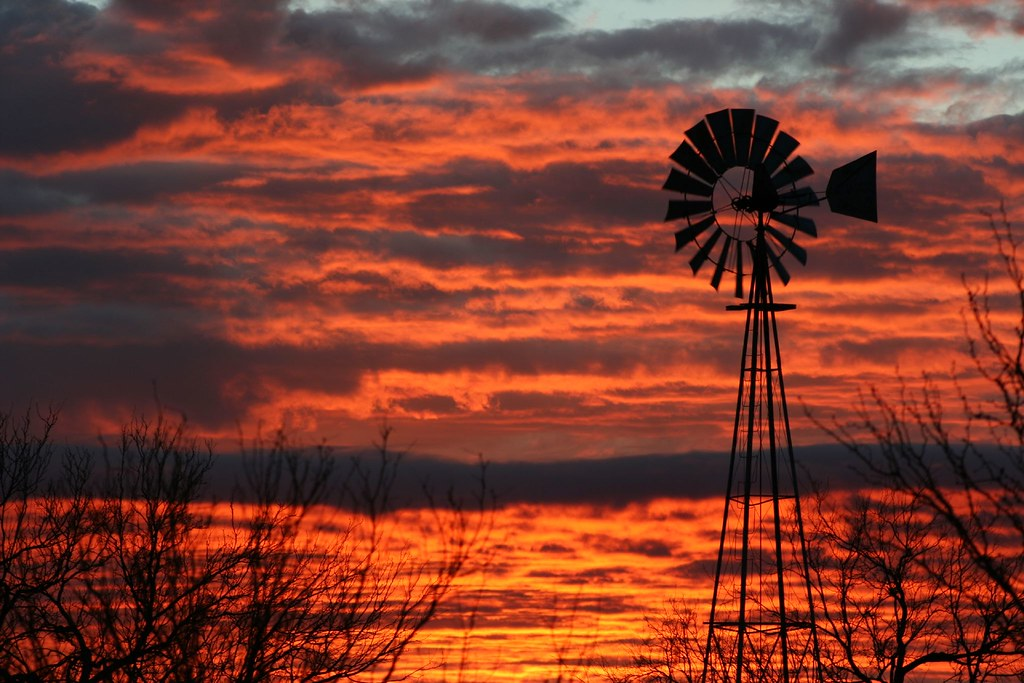 West Texas Sunrise  God made this one awesome first we