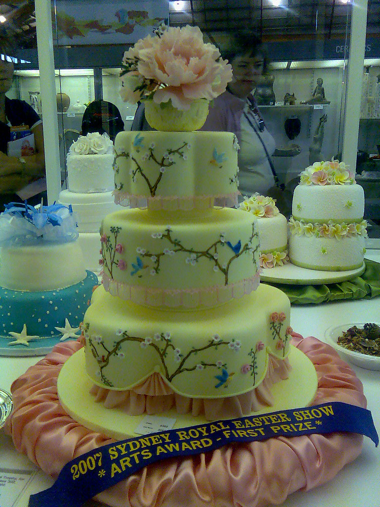 Royal Easter Show  Prize winning cake decorating  Angus