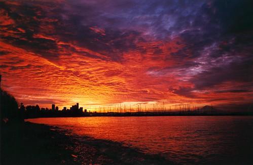 Sunrise at Magnolia Beach Seattle WA  Added to