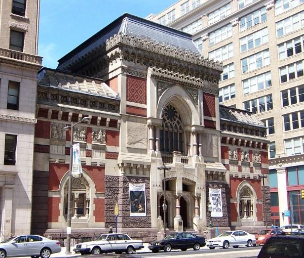 Philadelphia Pa Pennsylvania Academy Of Fine Arts
