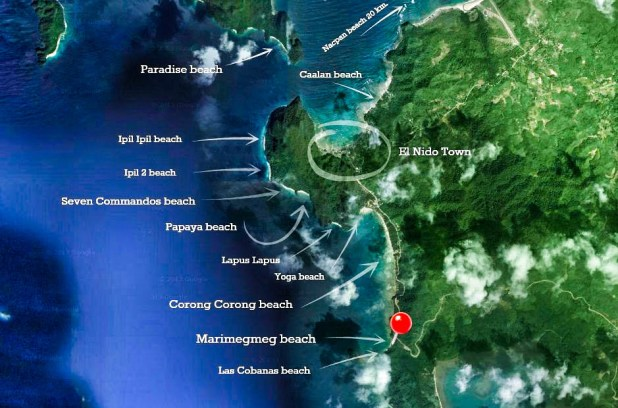 Mapa Corong Corong