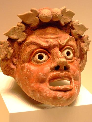 Mask Of A Satyr Greek Made In The Eastern Mediterranean 30
