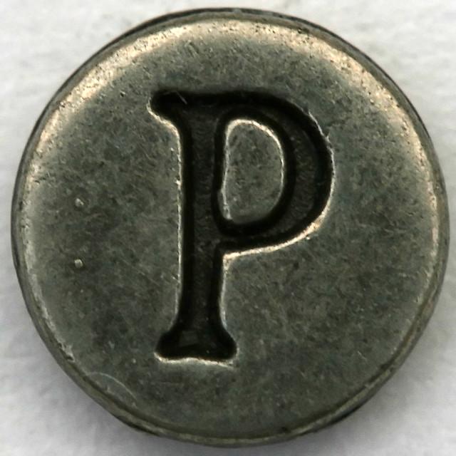 Pewter Letter P  Leo Reynolds  Flickr