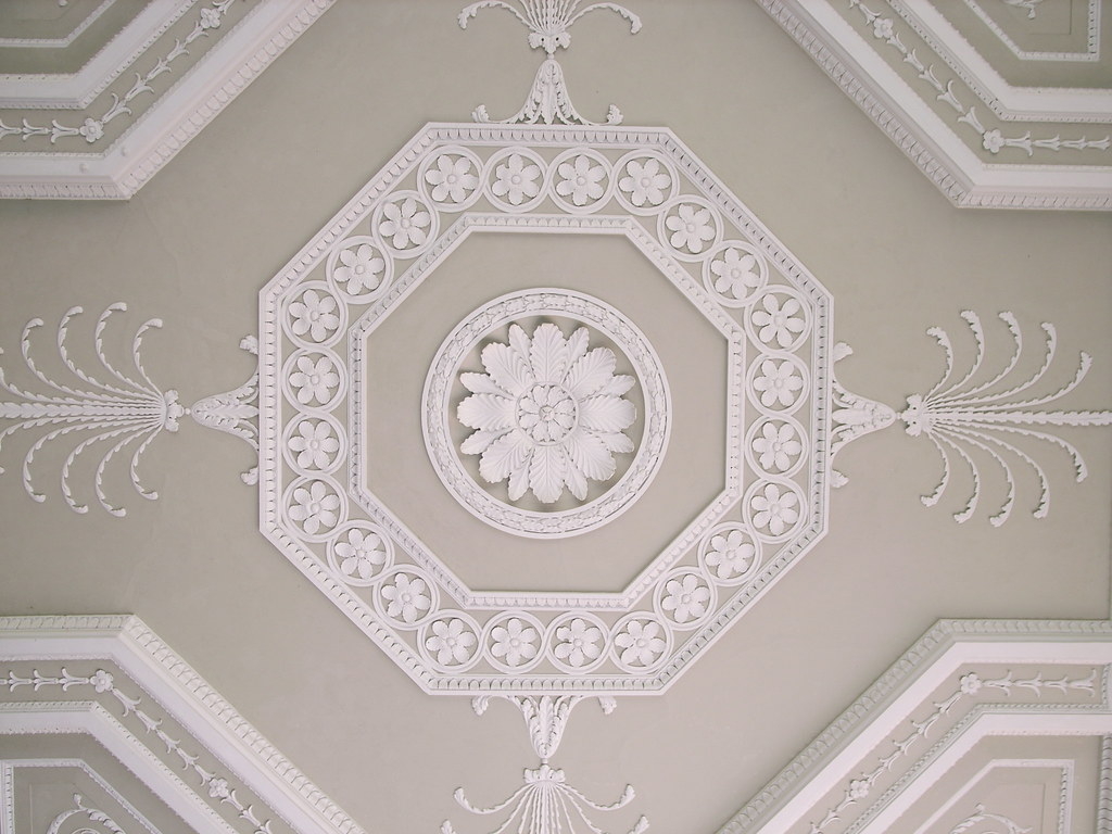 Portico Ceiling Osterley Park Ceiling Under The Open
