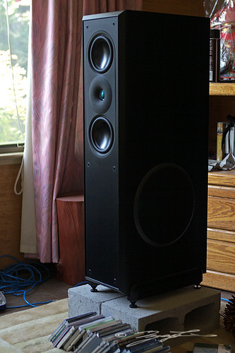 Acoustic Research AR9  After 9 years this AV system