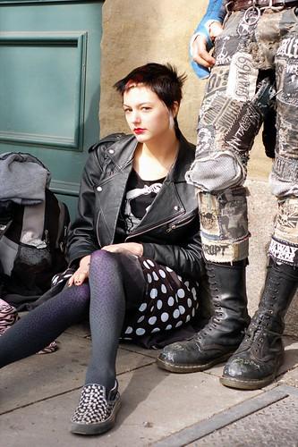 Beautiful Street Punk  I was at the Portland Saturday