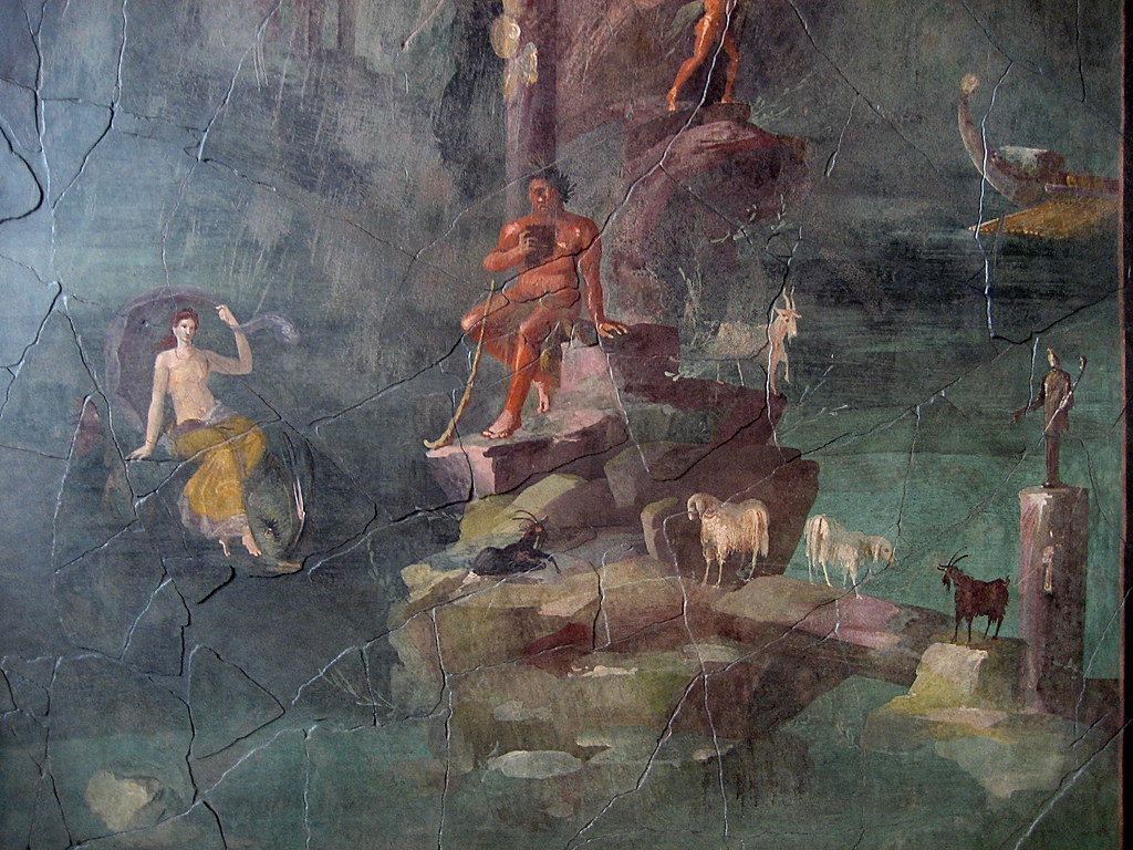 Landscape with Polyphemus and Galatea From the Mythologi  Flickr