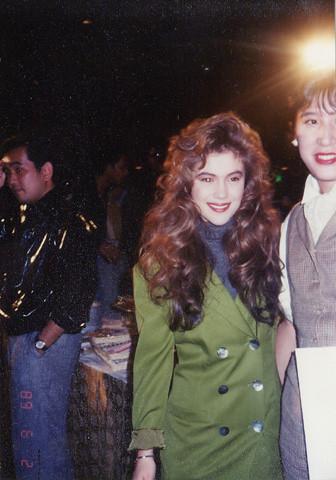 Alyssa Milano Tokyo 1989 Alyssa Milano At The Tokyo