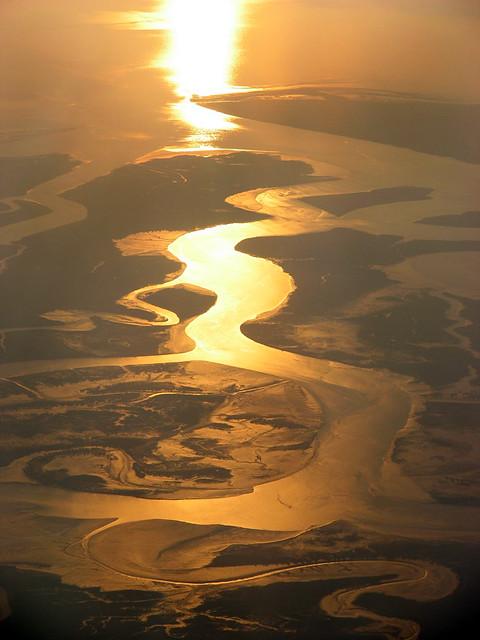 Indus river delta  Approaching Karachi  Michael Foley