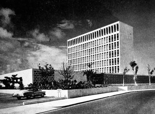 US Embassy in Havana 1950s 2  Havana United States