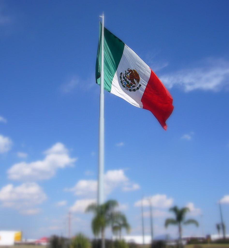 Bandera de Mxico  24 de febrero Da de la Bandera de