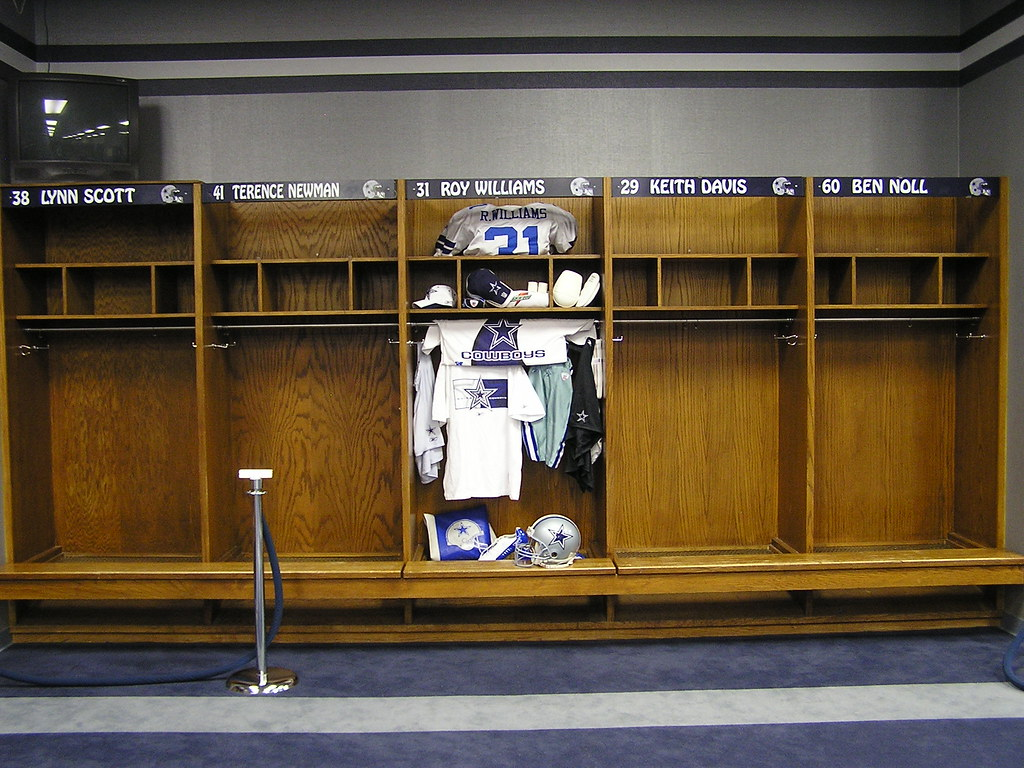 Inside the Dallas Cowboys locker room  Based on my