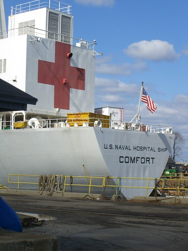 US Naval Hospital Ship Comfort  Sam Blackman  Flickr