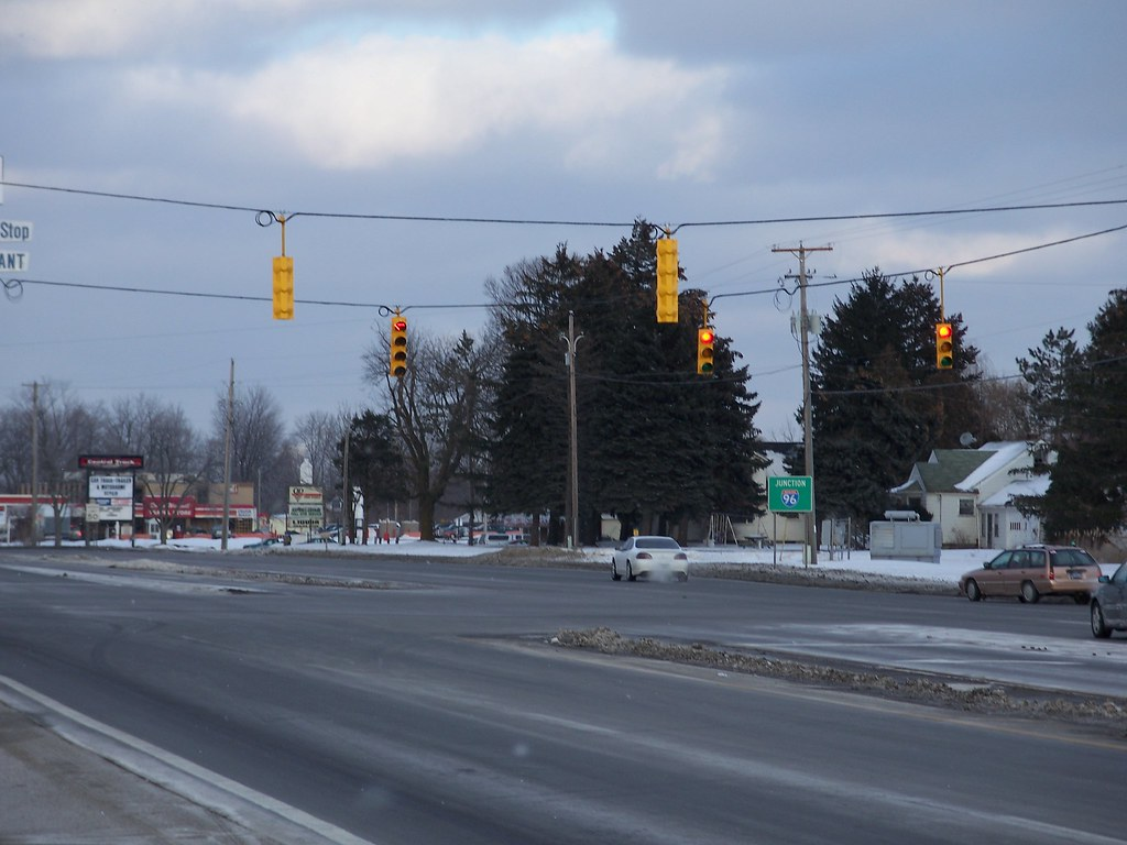 Another relatively new traffic light  This is the Michigan   Flickr