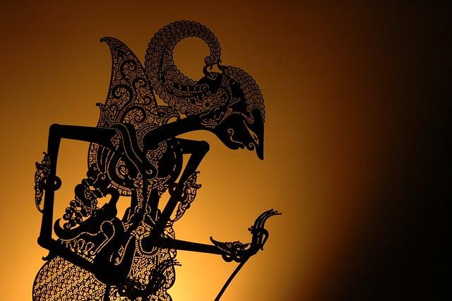 Ramayana 3d Wallpaper Arjuna Handmade Javanese Shadow Puppet Known As Wayang