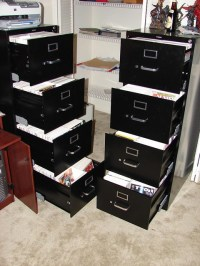 My Comic Collection   Here are my two legal size filing ...