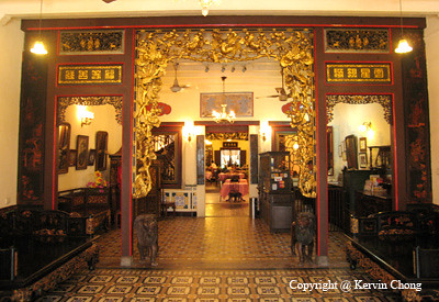 PeranakanRestaurantDecor  The carved entrance one you