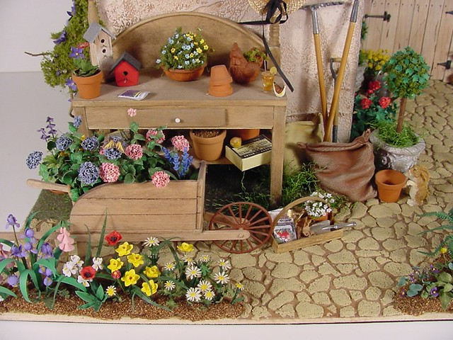 miniature potting shed 1 12 scale
