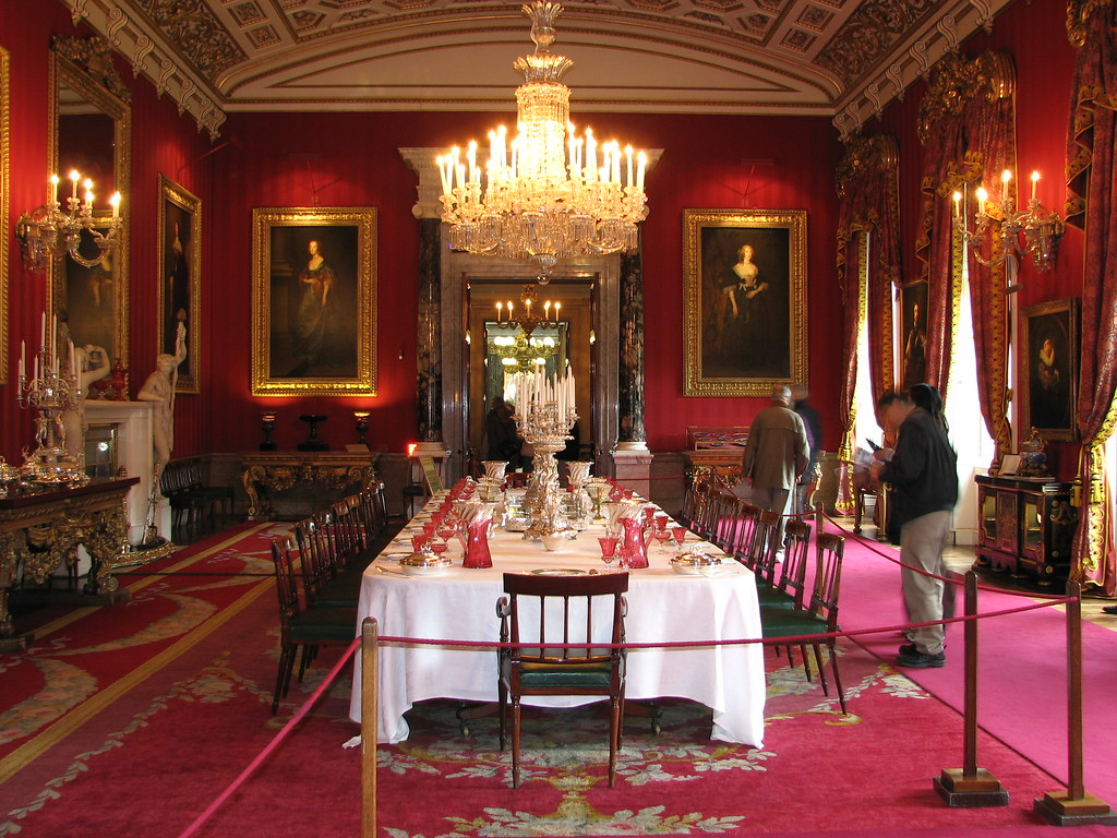 The Great Dining Room Chatsworth House  The Great Dining