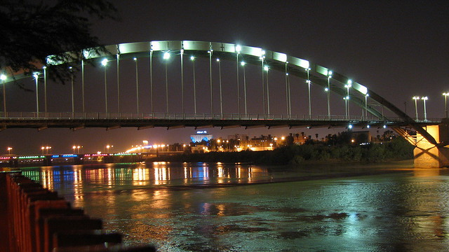 Ahvaz White Bridge  White Bridge over Karun river in