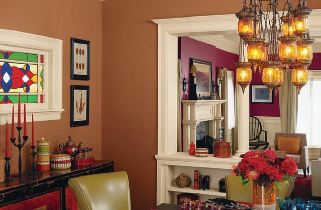 house colors  want the room color furthest away for the