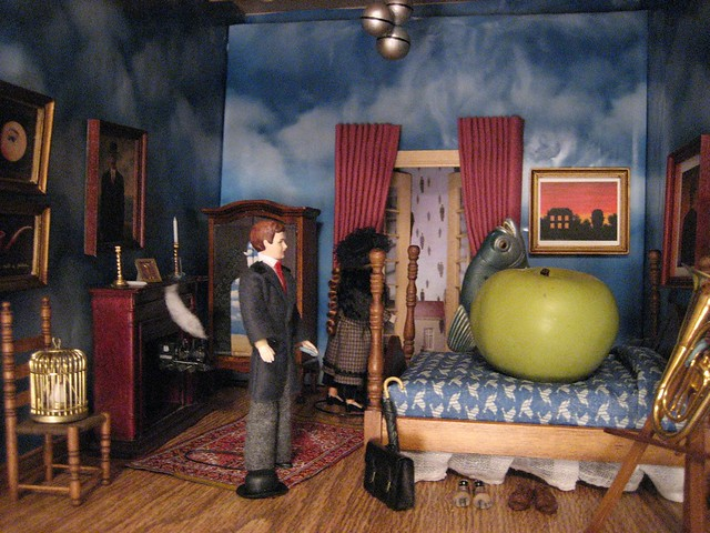 Surreal Magritte room  A variety of Magrittes images