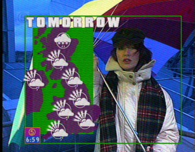 Tanya James  Channel 5 Weather from their old 6am